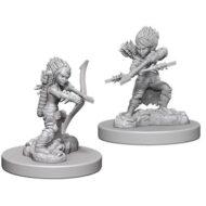 D&D fígurur (Pathfinder) Female Gnome Rogue