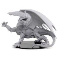 D&D fígurur (Pathfinder) Gargantuan Green Dragon
