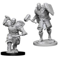 D&D fígurur Goliath Fighter