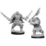 D&D fígurur (Pathfinder) Orcs