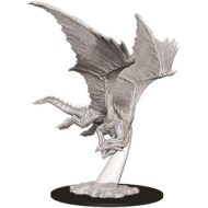 D&D fígurur Young Bronze Dragon