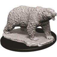 D&D fígurur Polar Bear