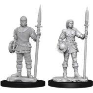 D&D fígurur Guards