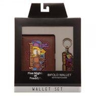 Five Nights At Freddys Wallet/keychain Set