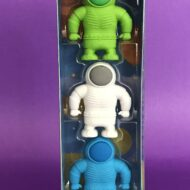 Ooly Astronaut Erasers set of 3
