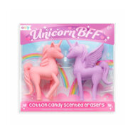 Ooly Unicorn BFF Cotton Candy Scented Erasers