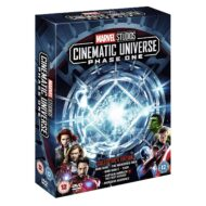Marvel Studios Cinematic Universe Phase One DVD