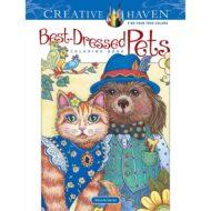 Creative Haven Best Dressed Pets- Litabók