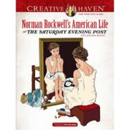 Greative Haven Norman Rockwells American Life coloring