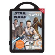 Star Wars Rise of Skywalker Book and magnetic play set