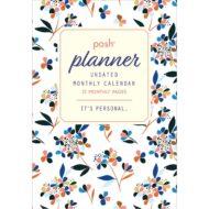 Posh Planner Undated Monthly Calendar