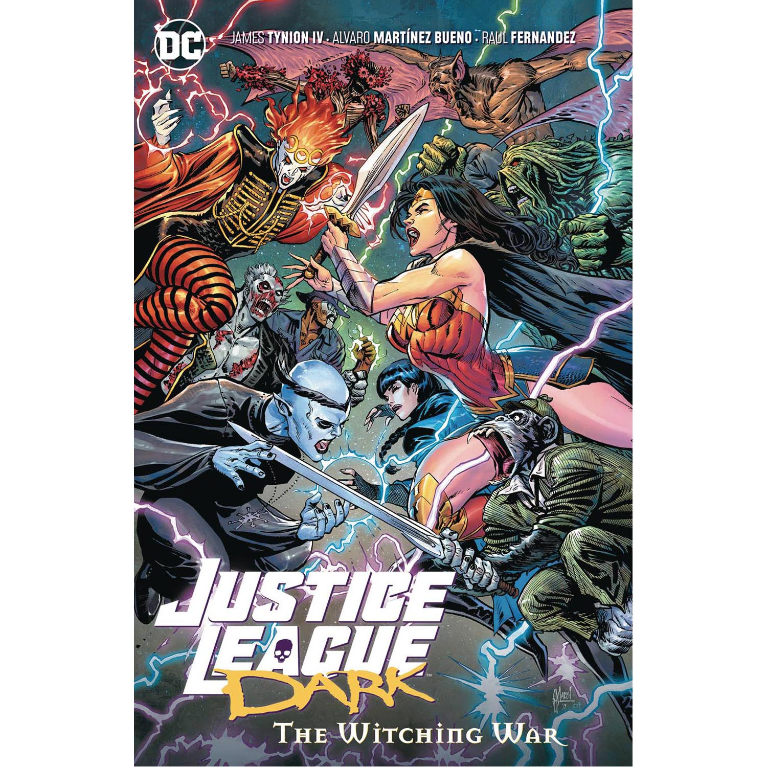 Justice League Dark Vol 03 The Witching War