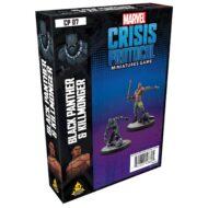 Marvel Crisis Black Panther & Kilmonger