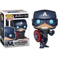 Marvels Avengers Game Captain America Pop! Vinyl Figure