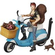 Marvel Legends Squirrel Girl Action Figure with Vehicle