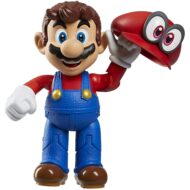 World of Nintendo – Mario with Cappy 4-Inch Action Figure