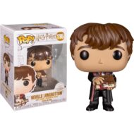 Harry Potter Neville with Monster Book Pop! Vinyl Figure