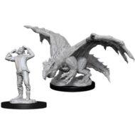 D&D fígúrur Green Dragon Wyrmling & Afflicted Elf