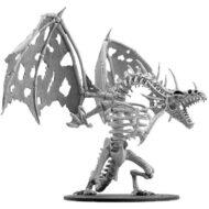 D&D fígúrur Gargantuan Skeletal Dragon