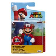 Nintendo 2 1/2-Inch Mini-Figure – Mario and Cappy