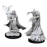 D&D fígurur: Cultist & Devil