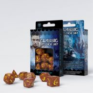 Q-Workshop Teningasett Classic RPG Caramel/Yellow (7)