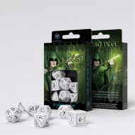 Q-Workshop Teningasett Elvish White/Black (7)