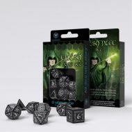 Q-Workshop Teningasett Elvish Black/White (7)