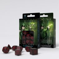 Q-Workshop Teningasett Elvish Black/Red (7)
