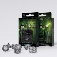Q-Workshop Teningasett Elvish Transparent/Black (7)