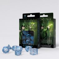 Q-Workshop Teningasett Elvish Transparent/Blue (7)