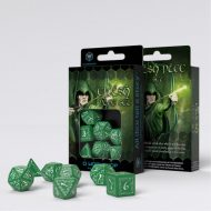 Q-Workshop Teningasett Elvish Green/White (7)