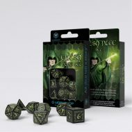 Q-Workshop Teningasett Elvish Black/GlowNDark (7)