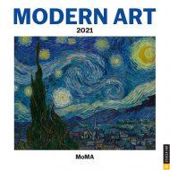 Moma Modern Art Mini  veggdagatal 2021