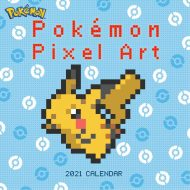 Pokémon Pixel Art  veggdagatal 2021