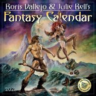 Boris Vallejo & Julie Bell   veggdagatal 2021