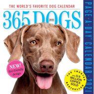 365 Dogs Desk Calendar 2021