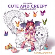 Cute and Creepy Coloring Book