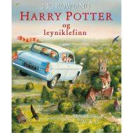 Harry Potter og leyniklefinn myndskreytt