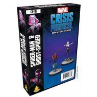 Marvel Crisis Ghost-Spider & Spider-Man