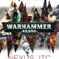 Warhammer 40.000 spilamót sunnudagur 4. október 2020