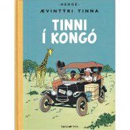 Ævintýri Tinna – Tinni í Kongó innbundin
