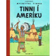 Ævintýri Tinna – Tinni í Ameríku innbundin