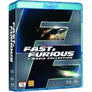 Fast and Furious 1-7 Box Set (Blu-ray)