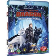 How To Train Your Dragon The Hidden World með íslensku tali (Blu-ray)
