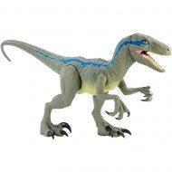 Jurassic World: Fallen Kingdom Super Colossal Velociraptor Blue