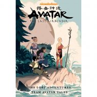 Avatar the Last Airbender The Lost Adventures & Team Avatar Tales Library Edition