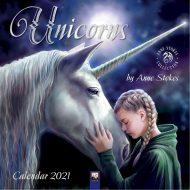 Unicorns by Anne Stokes – veggdagatal 2021