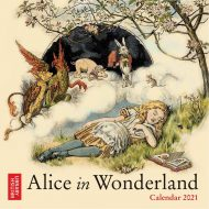 Alice in Wonderland – minna veggdagatal 2021