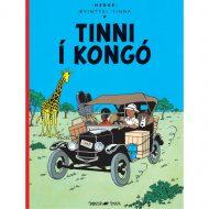 Ævintýri Tinna – Tinni í Kongó kilja